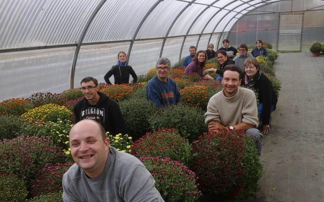 Portes ouvertes à la jardinerie Chanteloup à Hurigny