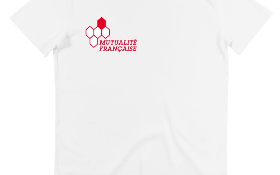 Don de t-shirts Mutualité Française