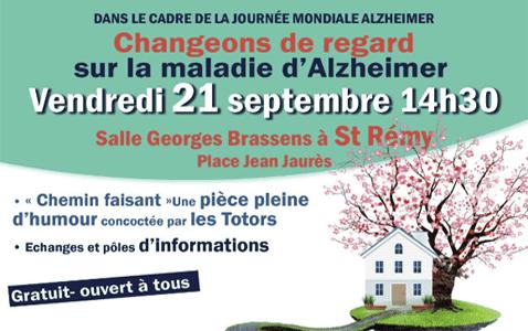 Retrouvez-nous sur la Journée Mondiale Alzheimer à Saint-Rémy