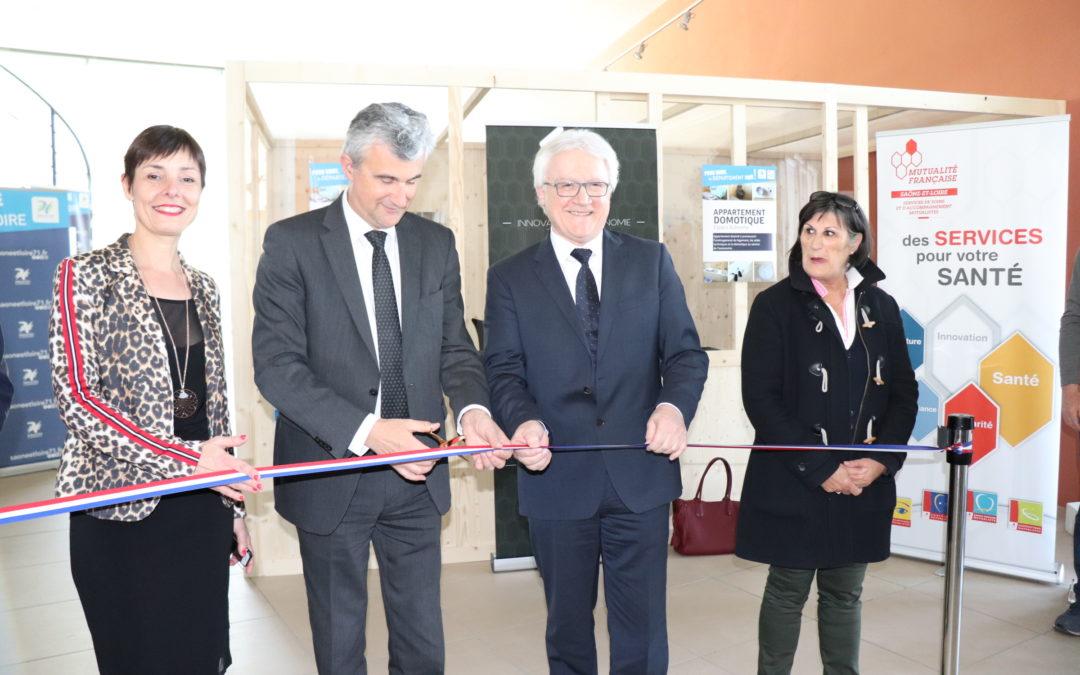 Appartement pédagogique inauguré avec le Conseil départemental