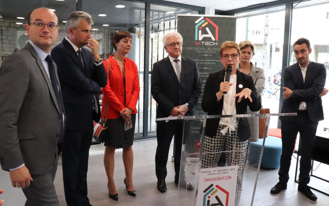 Inauguration de la Home Tech à Chalon
