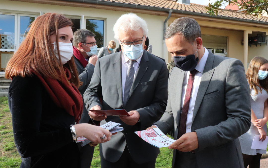 La Mutualité présente l'Equipe Mobile au Secrétaire d'Etat Adrien Taquet