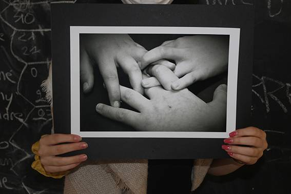 Exposition «nos mains, outils du quotidien» issue du travail des jeunes du Dispositif d'Accompagnement Spécifique