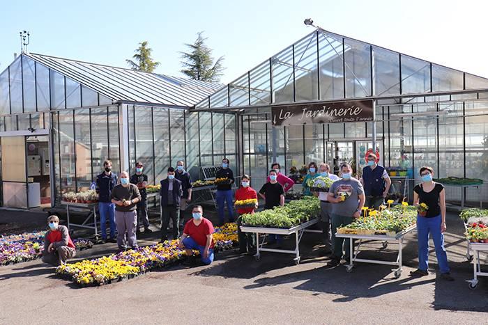 Du 5 au 8 mai 2021, Journées Portes Ouvertes à la Jardinerie de Chanteloup !