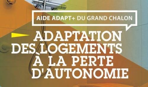 Aide Adapt + du Grand Chalon, adaptation des logements à la perte d'autonomie