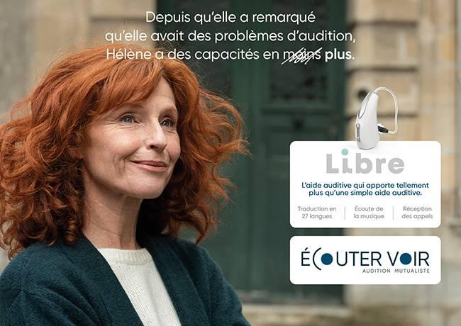 Libre, l'aide auditive qui apporte tellement plus qu'une simple aide auditive